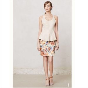 BARASCHI fiore anthropology embroidered  skirt